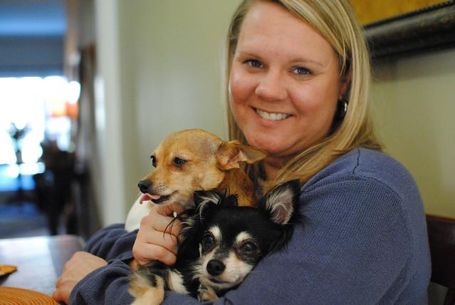 Becky & Chihuahuas