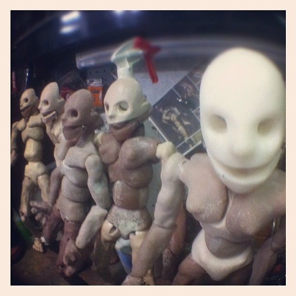 Five gynoid dolls assembled #bjd