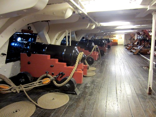 belowdecks on the uss constitution
