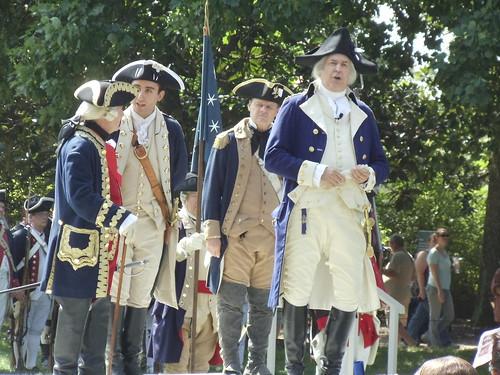 Washington Rochambeau Encampment Reenactment 2011 - Opening