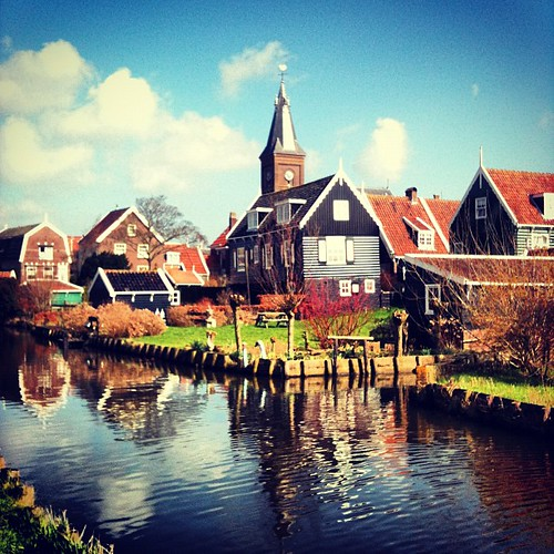 Marken looks like a fairytale @visitholland #holland
