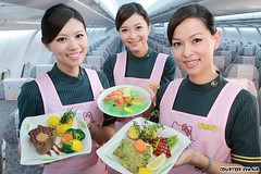 """Flight attendants with nom noms • <a style=""""font-size:0.8em;"""" href=""""http://www.flickr.com/photos/66379360@N02/6850965705/"""" target=""""_blank"""">View on Flickr</a>"""