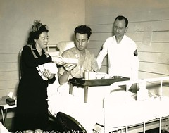 Patient receives a box of homemade delicacies