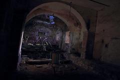 Mangiatoioa abbandonata (abandoned manger)