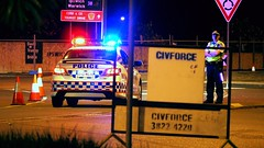Queensland Police Service Toyota Aurion SX6