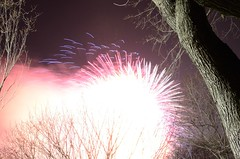 2012 NYRR New Years Eve Fireworks Display, Cen...