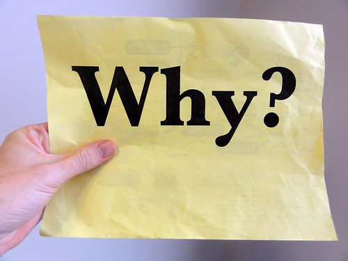 Why? by Editor B, on Flickr