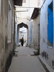 Stone Town Alleyway