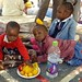 Refugees from Sudan's Darfur region staying in...