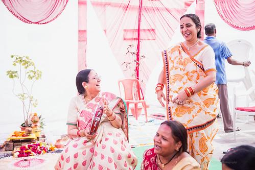 Thumkas on son's wedding