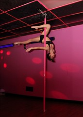 Heidi Coker Professional Pole Dancer