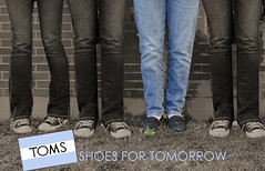 TOMS: Shoes For Tomorrow.