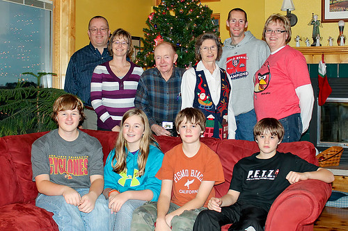 """December 26 Family Portrait • <a style=""""font-size:0.8em;"""" href=""""http://www.flickr.com/photos/7983687@N06/6592192055/"""" target=""""_blank"""">View on Flickr</a>"""