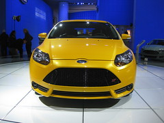 Ford Focus ST at NAIAS 2012
