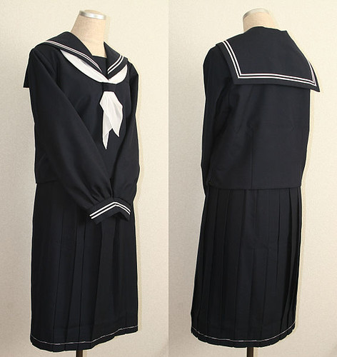 JAPANESE SCHOOL UNIFORMS--NOT MY PHOTO