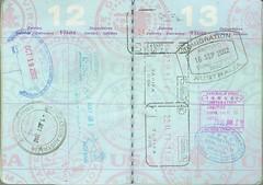 passport #3: USA, Australia, Mexico, Germany, ...