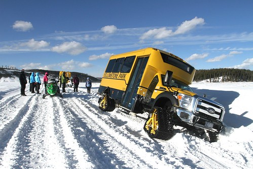 Snowcoach off road
