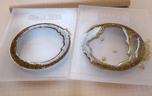 Resin bracelets