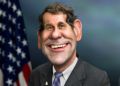 Sherrod Brown - Caricature
