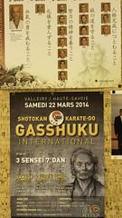 Gasshuku International Valleiry 2014
