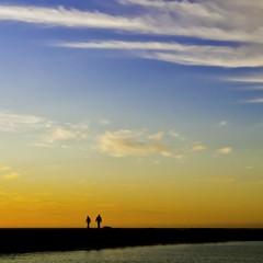 Dawn walk