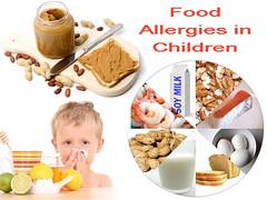 Common food allergies in children