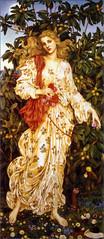 'Flora' by Evelyn De Morgan (1894)