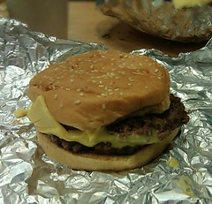 Double Cheeseburger @ Five Guys Burgers & Fries