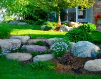 Naturalistic Outcroppings | Rock Gardens | Boulder Images ...
