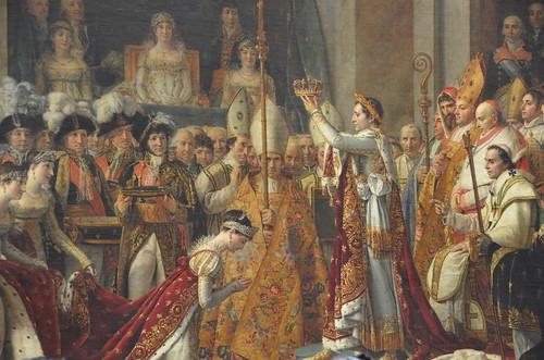 ナポレオン一世の戴冠式/ジャック=ルイ・ダヴィッド