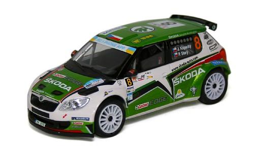 Abrex Fabia S2000 rally