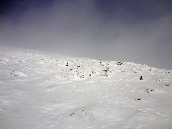 Approaching Mt. Washington Summit
