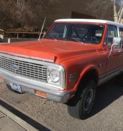 1972 chevrolet k10 blazer dave 7 tags orange chevrolet truck 70s suv 1972 blazer [ 1024 x 768 Pixel ]