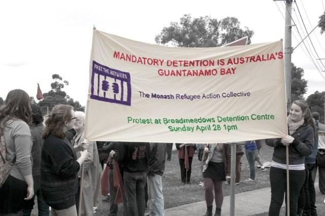 Banner: Mandatory Detention is Australia by John Englart (Takver), on Flickr