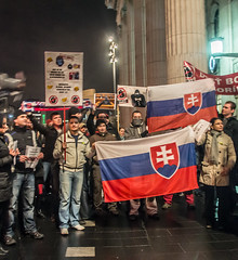 Rally against Political Corruption In Slovakia...