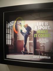 Nike+ Fuelband LA Launch Event - Sofia Boutella