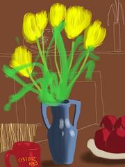 031011 Yellow Tulips
