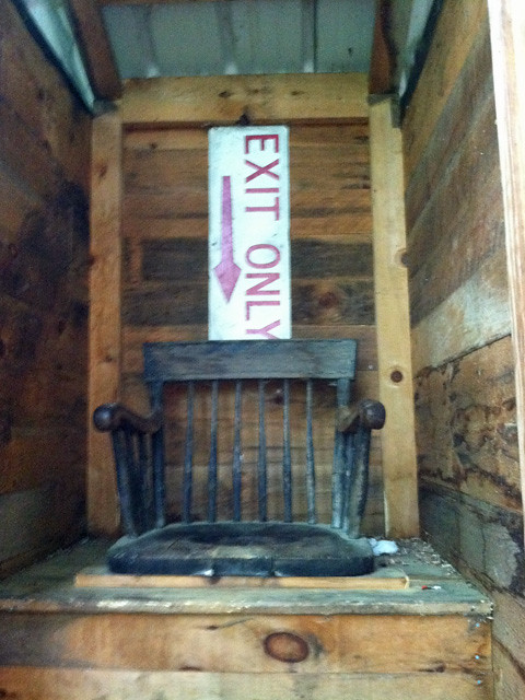 Trapper John Shelter Outhouse