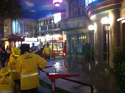 Kidzania Fire Fighters on the Scene