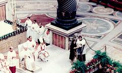 Senator Arriola in Rome, 1985