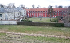 looking into Kastellet from rampart