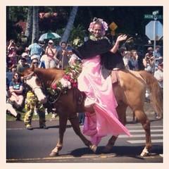 Pau rider, Princess of Maui, King Kamehameha Day, holiday, celebration, event