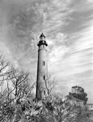 Ponce de Leon Lighthouse: New Smyrna Beach, Fl...