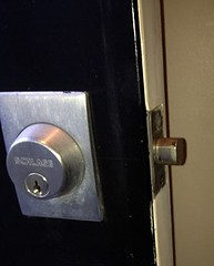"""Schlage Deadbolt Installed Wrong 