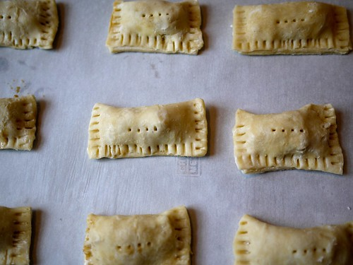 Apple hand pies - Formed pies