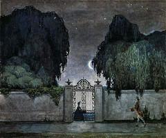 Somov, Konstantin (Russian, 1869-1939) -  Date at Night  -  s.d.