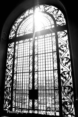 A window in time - B&W