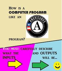 AmeriCorps-Computer Program Joke