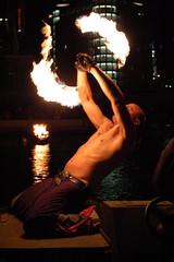 Spogga Twirls Some Fire