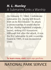 H. L. Hunley A Submarine Sinks a Warship
